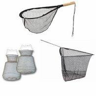 Kescher, Setzkescher und Netze