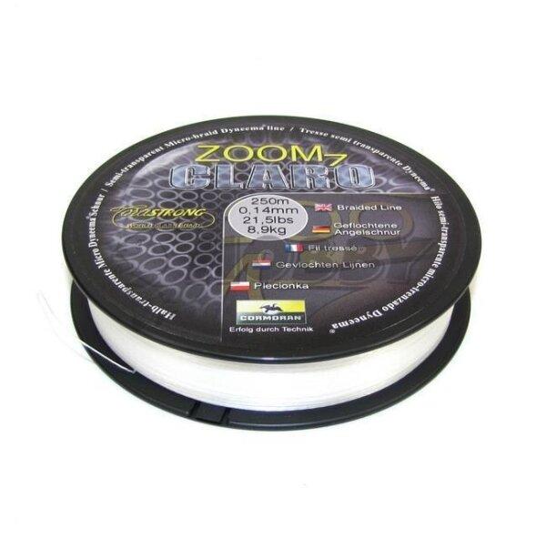 Cormoran ZOOM 7 CLARO Geflochtene Schnur 1000m 0,08mm 5,6kg transparent