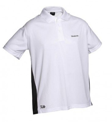 Daiwa Poloshirt weiß XL