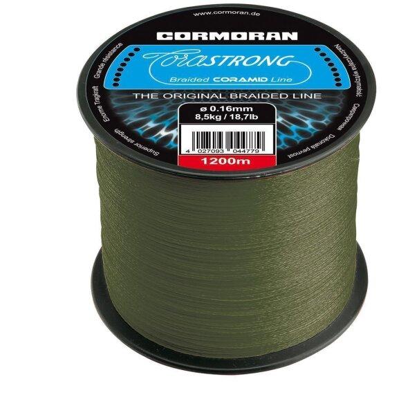 Cormoran Corastrong 0,10mm 4,6kg 1200m gefl. Schnur