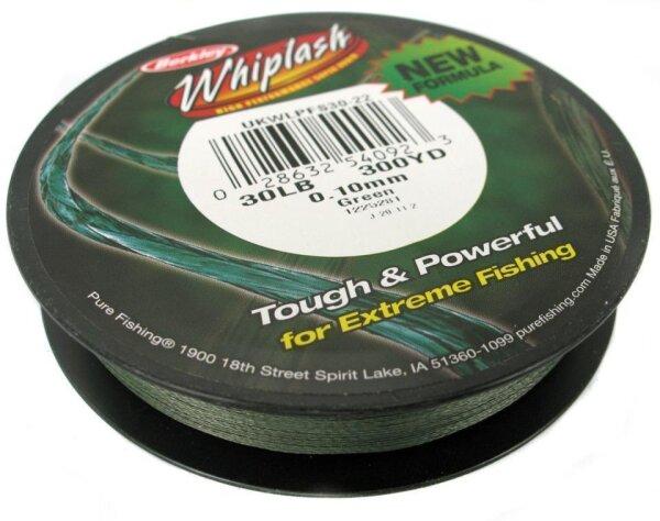 Berkley WHIPLASH 0.25mm 250m Green Geflochtene Schnur