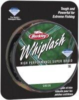 Berkley WHIPLASH 0.14mm 300m Green Geflochtene Schnur