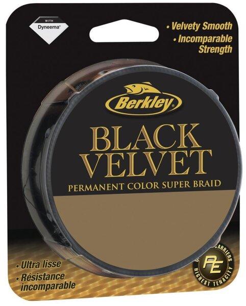 Berkley BLACK VELVET 0,285mm 250m Geflochtene Schnur