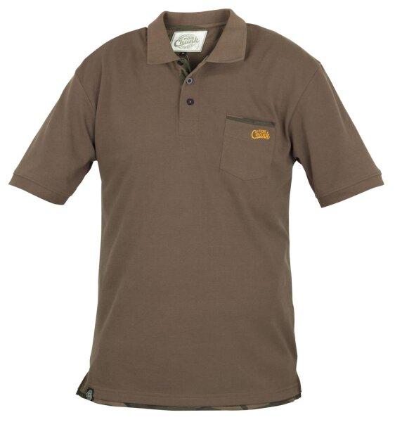 Fox CHUNK Khaki polo shirt Gr. XXL