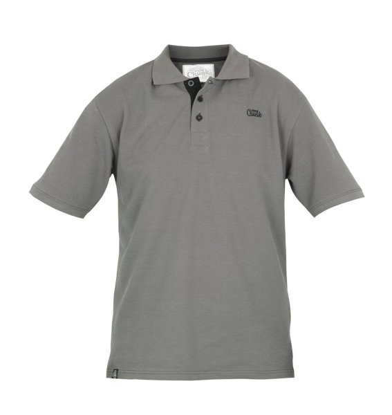 Fox CHUNK Grey / black polo shirt Gr. XL