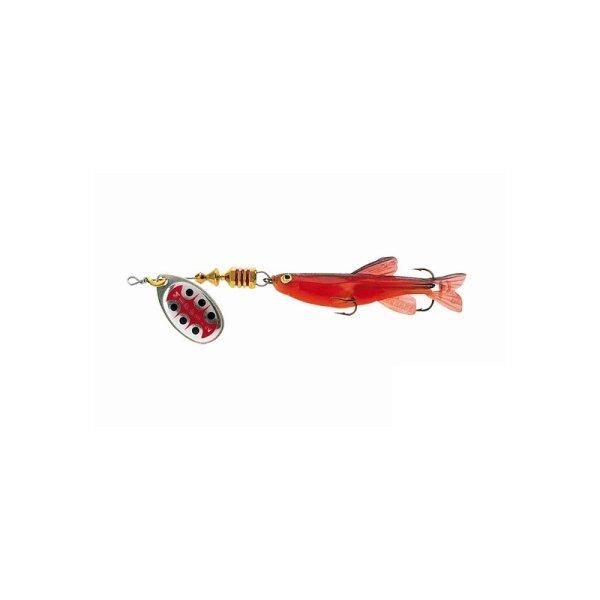 Mepps Aglia TW mit Fisch Rot 5.0g Größe 1 Spinner