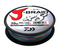 Daiwa J-Braid X8 0,42mm 46,5Kg 300m multicolor...