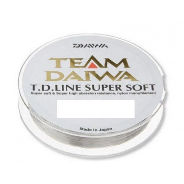 Daiwa Team Daiwa TD Super Soft 3000m 0,30mm 8,6kg Transparente Monofile Schnur