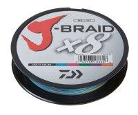 Daiwa J-Braid X8 0,18mm 12Kg 150m multicolor Geflochtene...