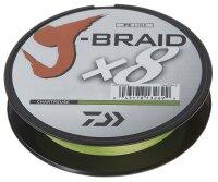 Daiwa J-Braid X8 0,28mm 26,5Kg 150m chartreuse...
