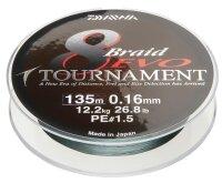 Daiwa Tournament 8 Braid EVO 0.12mm 8,6kg 1000m dg...