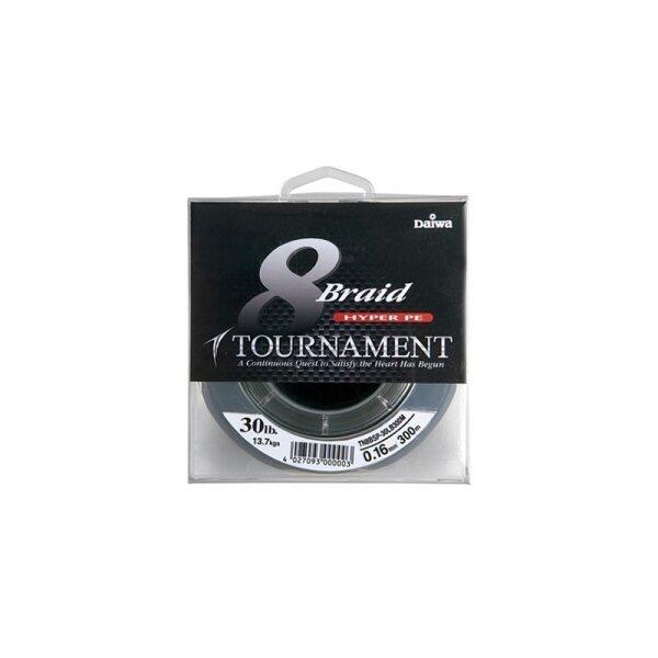 Daiwa  Tournament 8 TN 8x Braid 0,45mm 45,0kg 300m dunkelgrün