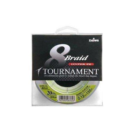 Daiwa  Tournament 8 TN 8x Braid 0,35mm 40kg 300m  chartreuse