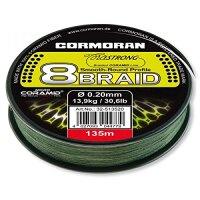 Cormoran Corastrong 8-Braid grün 135m 0.16mm 10,7Kg...