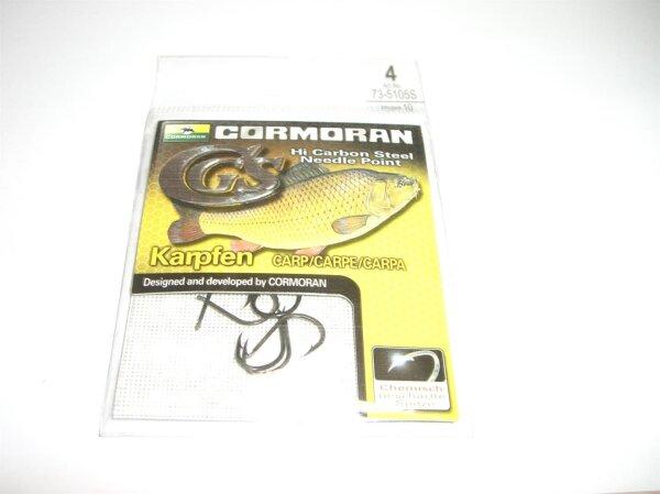 Cormoran CGS Karpfenhaken Gr. 6 ungebundene Haken 10 Stück
