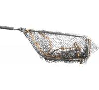 Savage Gear Kescher ProFolding Rubber Large Mesh Landing Net L 65x50cm
