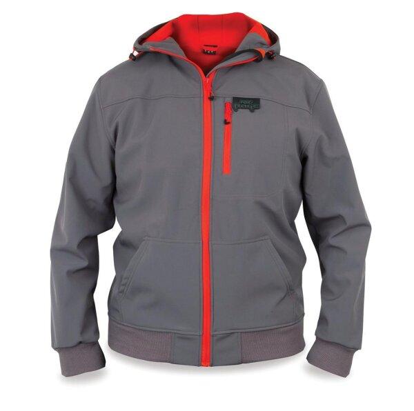 Rage Softshell Grey  / Red S Jacke