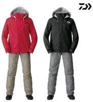 Daiwa Rainmax Thermoanzug Winteranzug Thermo Suit Jacke und Hose SCHWARZ/ROT