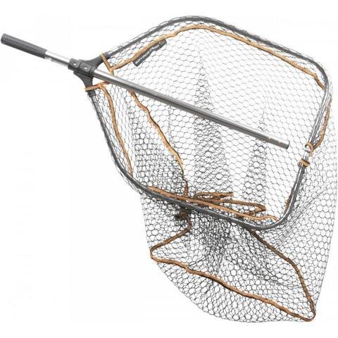 Savage Gear Kescher Pro Tele Folding Raubfischkescher Unterfangkescher Gummiert