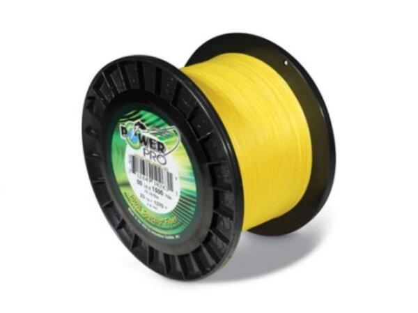 Power Pro 135m Spule geflochtene Schnur gelb in verschiedenen Durchmessern
