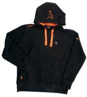 Fox Black / Orange  Hoodie - S Pullover