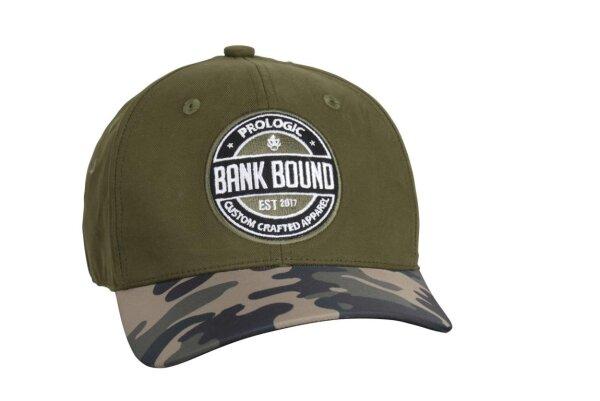 Prologic Bank Bound Camo Cap Green/Camo Kappe