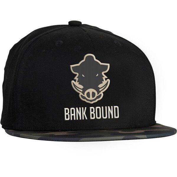 Prologic Bank Bound Flat Bill Cap Black/Camo Kappe