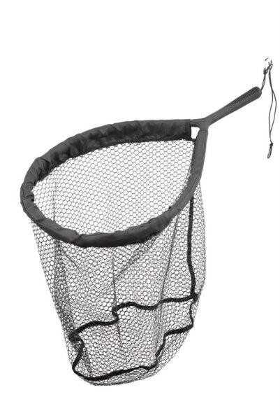 Savage Gear Pro Finezze Rubber Mesh Net 40x50x50cm Floating Kescher Watkescher