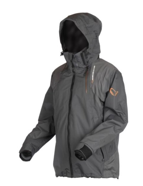 Savage Gear Black Savage Jacket Jacke Angeljacke Atmungsaktiv / Wasserdicht