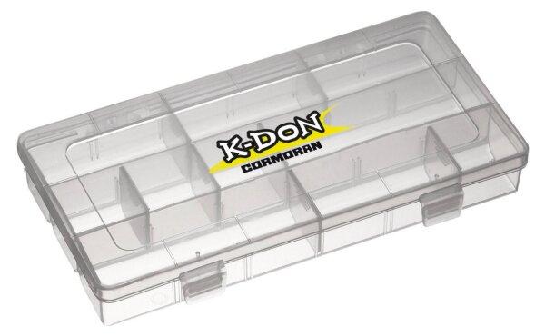 Cormoran K-Don Gerätebox 1008 Zubehörsbox Kleinteilebox Angelbox Box