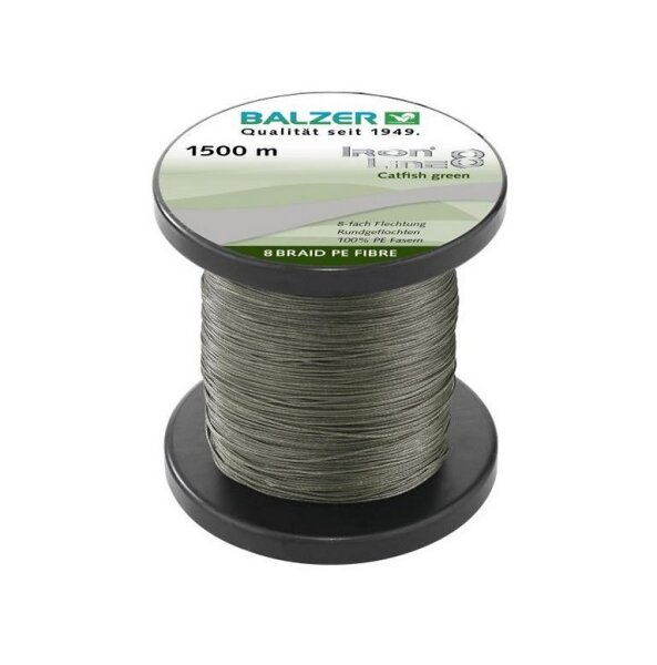Balzer Iron Line 8 Catfish grün 1500m 0,60mm