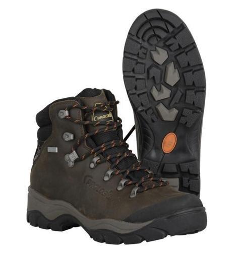 Prologic Kiruna Leather Boots Lederstiefel Gr. 41-47 Lederschuhe Outdoor Schuhe