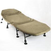 Mostal Memory Foam 8-Bein Liege Angelliege Karpfenliege Flat