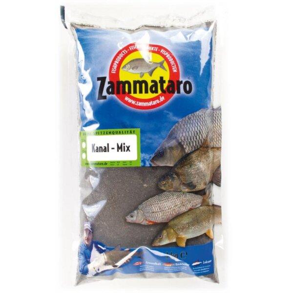 Zammataro Grundfutter Kanal-Mix Black 1Kg Lockmittel