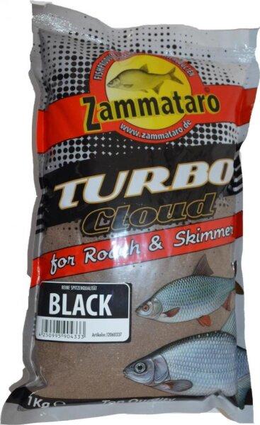Zammataro Grundfutter Turbo Cloud Black 1Kg Lockmittel