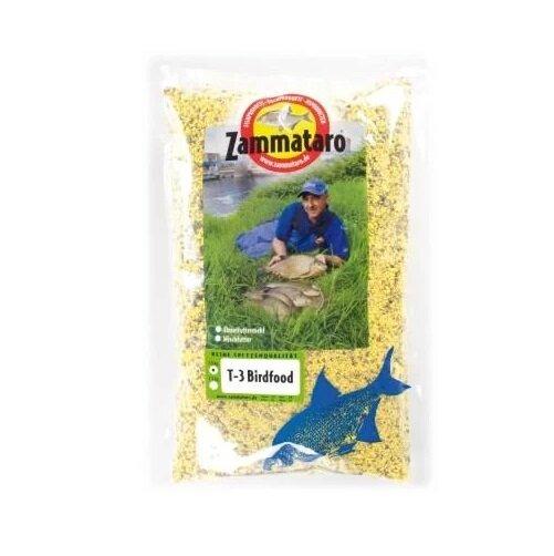 Zammataro Grundfutter T-3 Birdfood gelb 1Kg Lockmittel