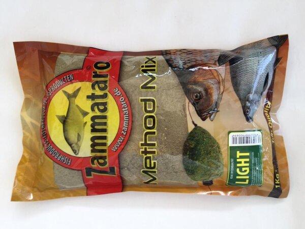 Zammataro Grundfutter Big Fish Mix- Bindet u.beschwert! 1Kg Lockmittel