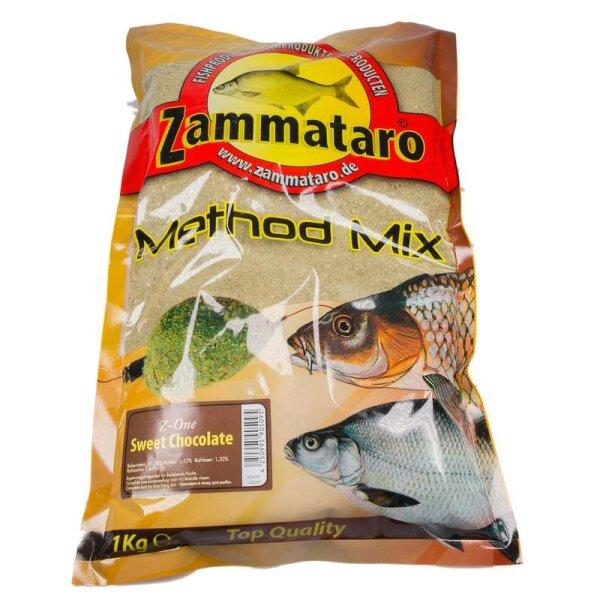 Zammataro Grundfutter Method - Mix Z-One Sweet Chocolate 1Kg Lockmittel