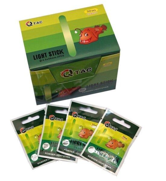 Q-TAC Knicklichter Powder grün 4,5 x39 mm 100 Stück Pulver