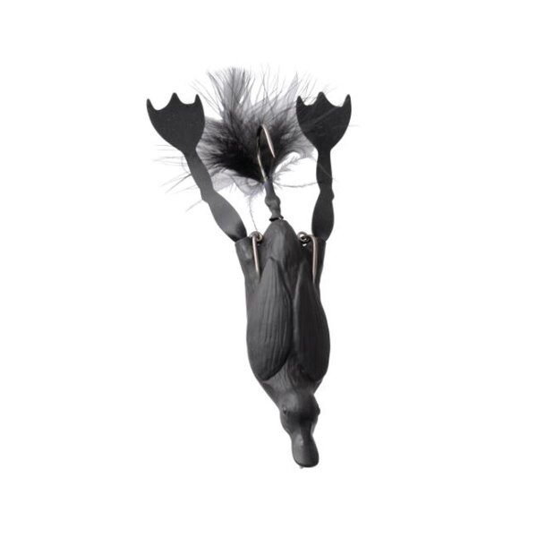 Savage Gear 3D Hollow Duckling weedless L 10cm 40g 05-Black