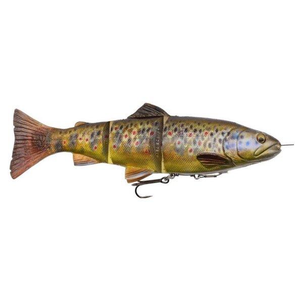 Savage Gear 4D Line Thru Trout 25cm 193g MS 03-Dark Brown Trout