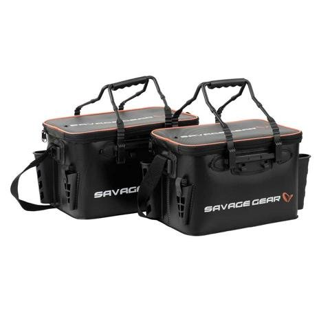 Savage Gear Boat Bank Bag Bootstasche wasserdicht Zubehörtasche S / M Kunstköder