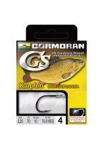 Cormoran CGS gebundene Vorfachhaken Angelvorfach 10 Stück Vorfächer mit Haken