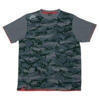 Fox Rage Camo T-Shirt Grey/Camo