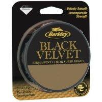 Berkley Black Velvet 110m Geflochtene Schnur Schwarz...