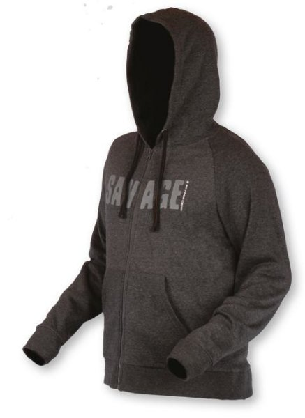 Savage Gear Simply Savage Zip Hoodie Kapuzenpullover Pullover Herren ver. Größen