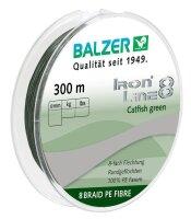 Balzer Iron Line 8 Catfish grün 300m 0,50mm