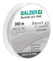 Balzer Iron Line 8 Catfish weiß 300m 0,50mm