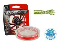 Spiderwire STEALTH SMOOTH 8 RED 240M 80LB/0,40MM