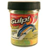 Berkley Gulp! Dough Natural Scent Garlic - Rainbow Candy